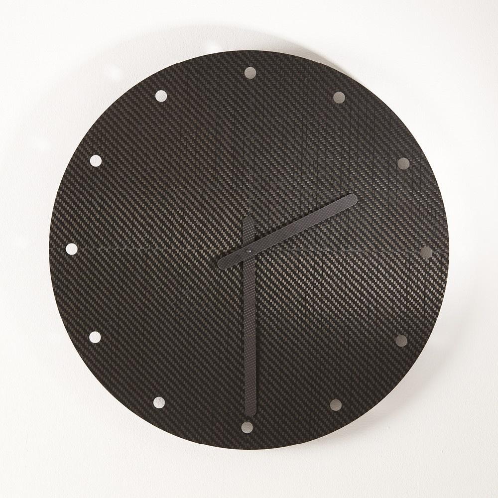 Orologio da muro ERE CARBONE 58 secondo Christophe GUERIN