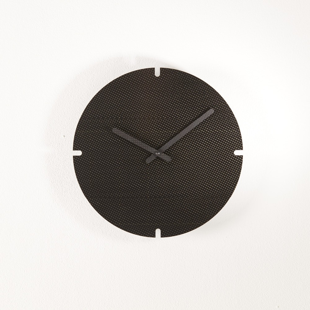 Clocks ERE CARBONE 28 by Christophe GUERIN